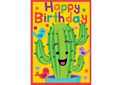 EUREKA A Sharp Bunch Birthday Postcards