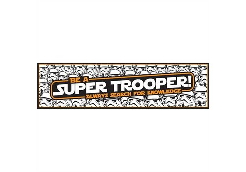 EUREKA Star Wars - Super Trooper Banner