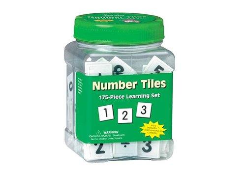 EUREKA Number Tiles Tub, 175 Tiles