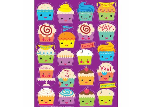 EUREKA Scented Stickers - Cupcake