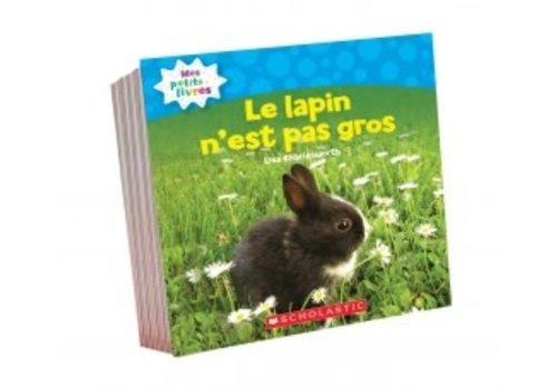 SCHOLASTIC CANADA Mes premiers petits livres set 3