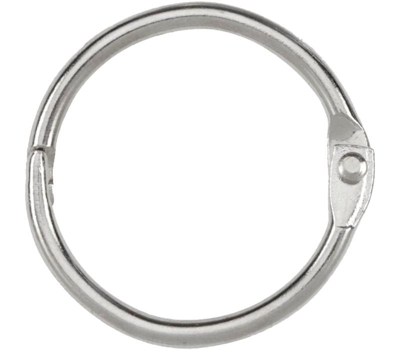 "1"" Binder Rings, 6-pack"