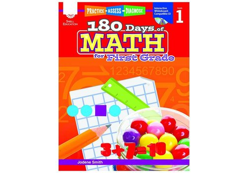 SHELL EDUCATION 180 Days of Math, Grade 1