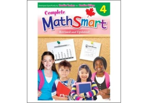 Popular Book Company Complete Math Smart, Gr 4