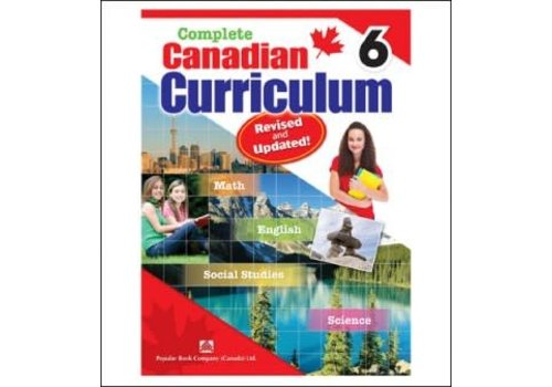 Popular Book Company Complete Canadian Curriculum, Grade 6
