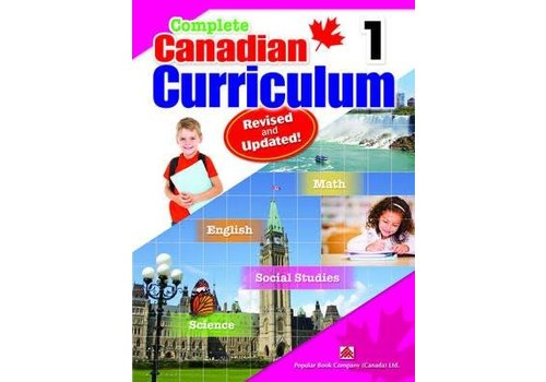 Popular Book Company Complete Canadian Curriculum, Grade 1