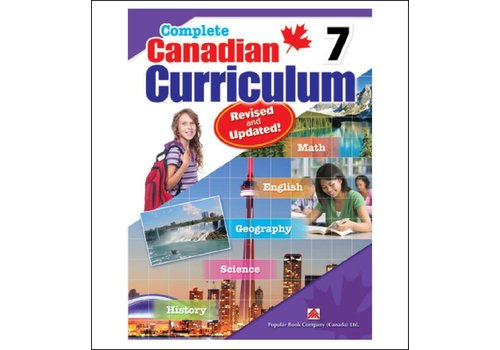 Popular Book Company Complete Canadian Curriculum, Grade 7