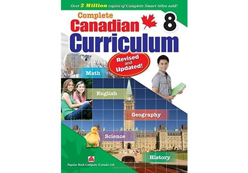 Popular Book Company Complete Canadian Curriculum, Grade 8