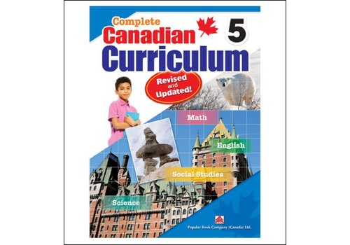 Popular Book Company Complete Canadian Curriculum, Grade 5