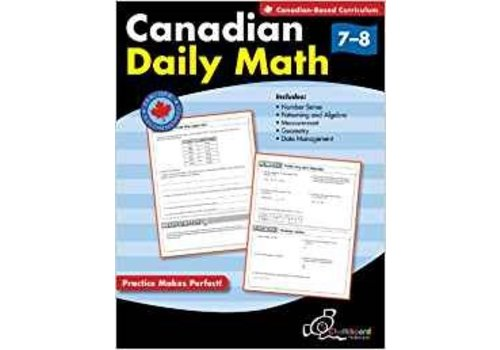 NELSON Canadian Daily Math Grade 7-8