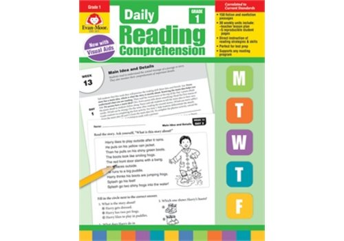 Evan Moor DAILY READING COMPREHENSION, GRADE 1 (Revised)
