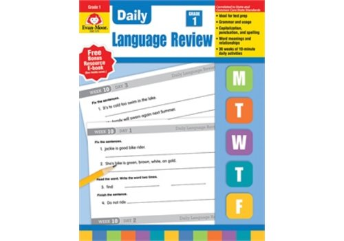 Evan Moor DAILY LANGUAGE REVIEW GRADE 1