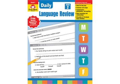 Evan Moor DAILY LANGUAGE REVIEW GRADE 2