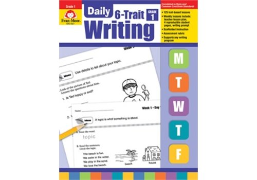Evan Moor DAILY 6-TRAIT WRITING GRADE 1
