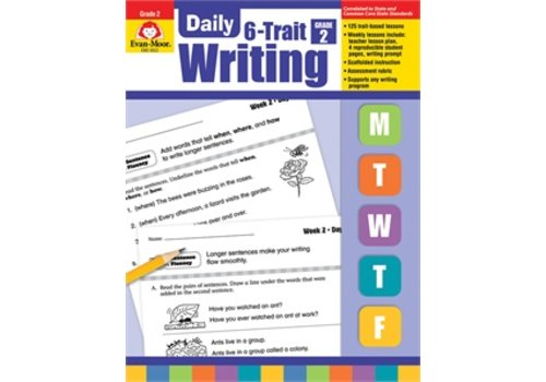 Evan Moor DAILY 6-TRAIT WRITING GRADE 2