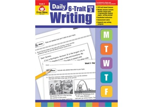 Evan Moor DAILY 6-TRAIT WRITING GRADE 3