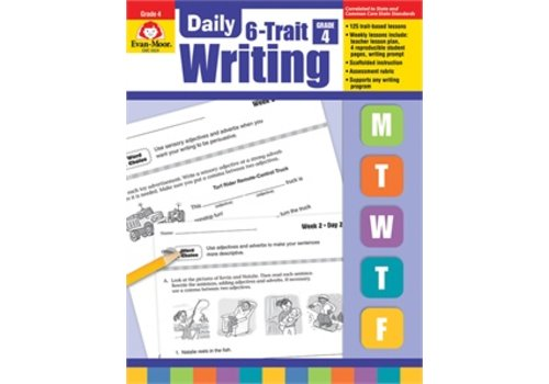 Evan Moor DAILY 6-TRAIT WRITING GRADE 4