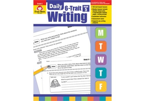Evan Moor DAILY 6-TRAIT WRITING GRADE 5