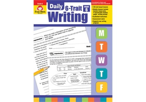 Evan Moor DAILY 6-TRAIT WRITING GRADE 6+