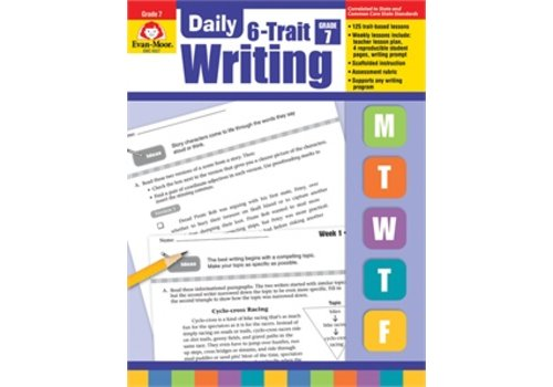 Evan Moor DAILY 6-TRAIT WRITING GRADE 7