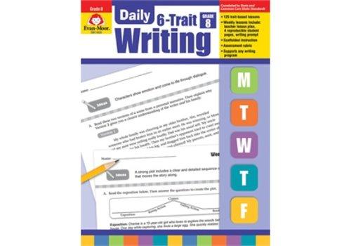 Evan Moor DAILY 6-TRAIT WRITING GRADE 8 *