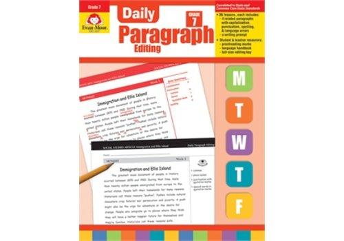 Evan Moor DAILY PARAGRAPH EDITING GRADE 7 *