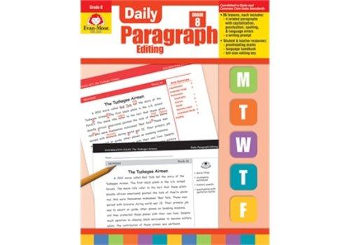 Evan Moor DAILY PARAGRAPH EDITING GRADE 8 *