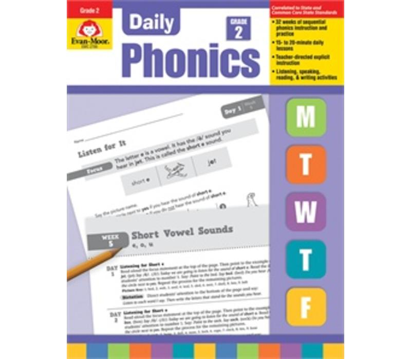 Evan Moor DAILY PHONICS GRADE 2