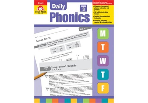 Evan Moor DAILY PHONICS GRADE 3