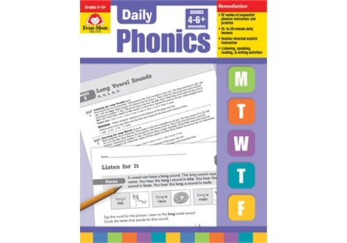 Evan Moor DAILY PHONICS GRADE 4-6+