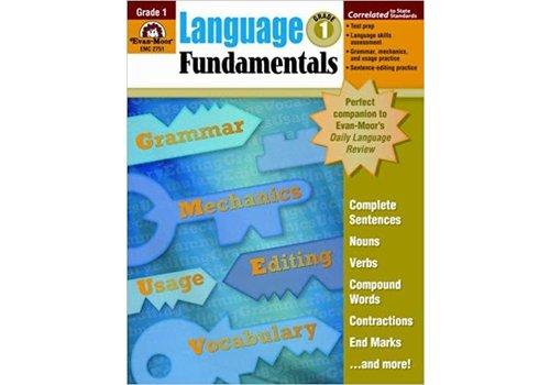 Evan Moor Language Fundamentals Gr 1
