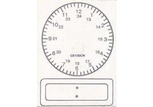CENTER ENTERPRISES Digital Clock Stamp