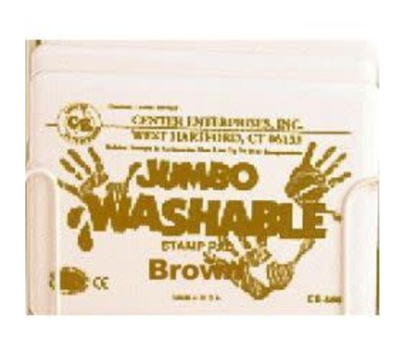Jumbo Stamp Pad, Brown *