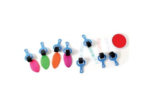 CENTER ENTERPRISES Paint & Clay Explorers (Set of 4 blue)