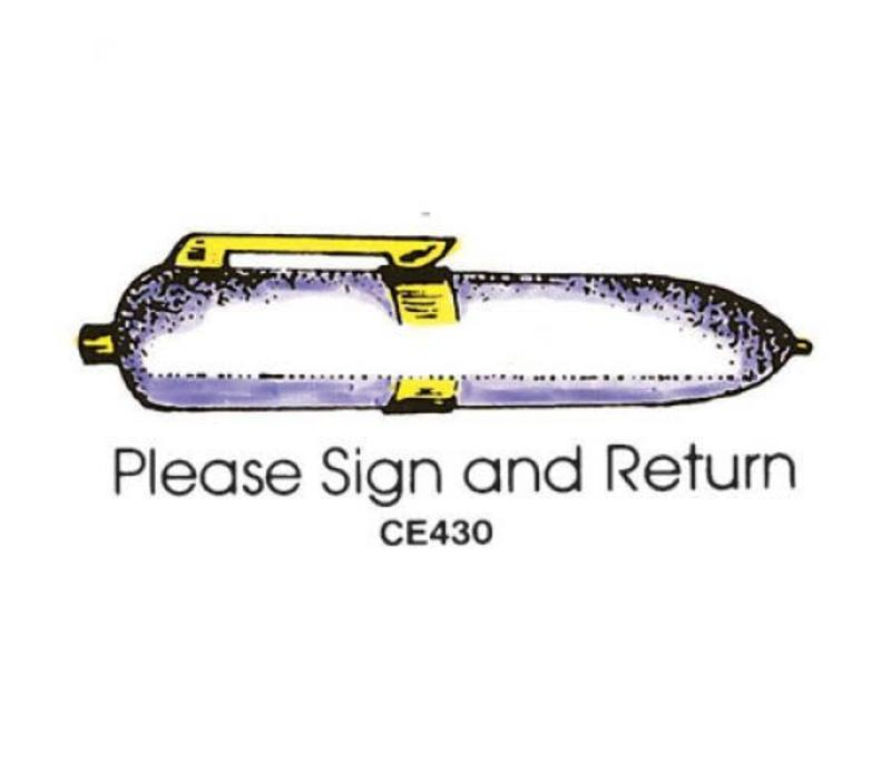 Please Sign and Return Stamp *