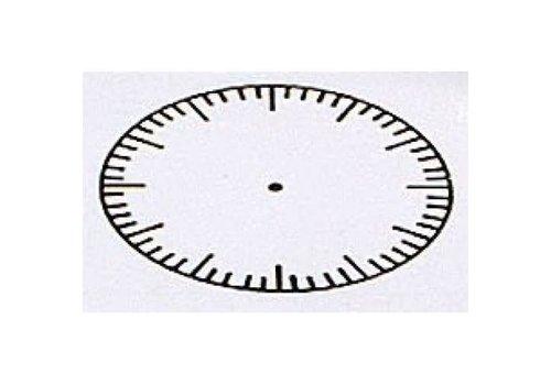 CENTER ENTERPRISES Large Clock Stamp