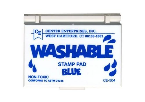 CENTER ENTERPRISES Blue Washable Stamp Pad