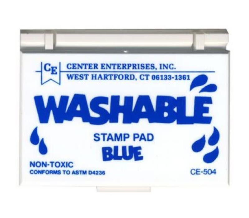 Blue Washable Stamp Pad *