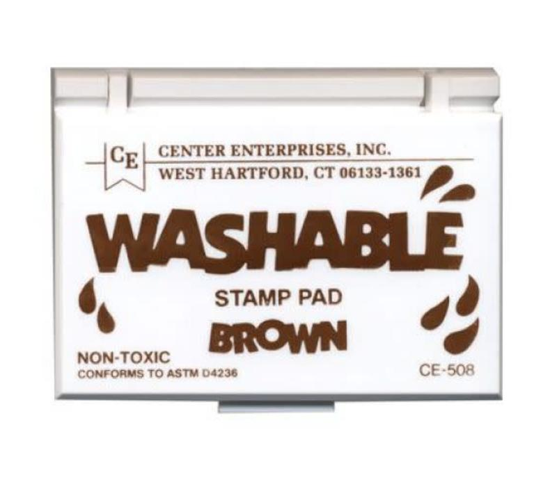 Brown Washable Stamp Pad *