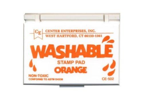 CENTER ENTERPRISES Orange Washable Stamp Pad *