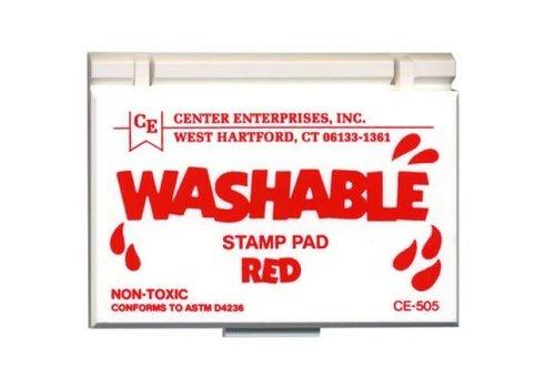 CENTER ENTERPRISES Red Washable Stamp Pad *
