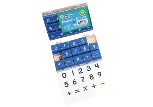 CENTER ENTERPRISES Numbers & Signs Stampers