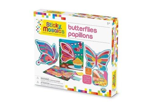 orb Sticky Mosaics Butterflies