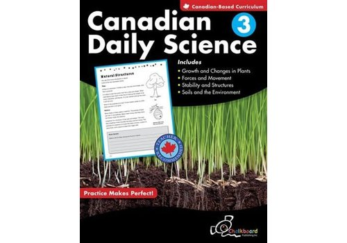 NELSON Canadian Daily Science, Grade 3
