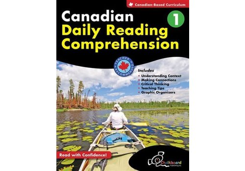 Chalkboard Canadian Daily Reading Comprehension Grade 1