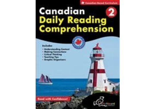 Chalkboard Canadian Daily Reading Comprehension Grade 2