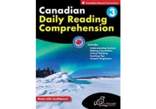 Chalkboard Canadian Daily Reading Comprehension Grade 3