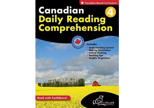 Chalkboard Canadian Daily Reading Comprehension Grade 4