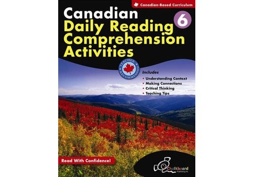 Chalkboard Canadian Daily Reading Comprehension Grade 6