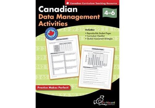 Chalkboard Canadian Data Management Activities 4-6